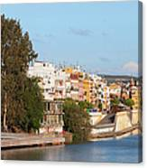 City Of Seville In Spain Canvas Print