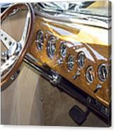 Classic Car Interior Canvas Print