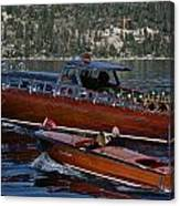 Classic Tahoe Runabouts Canvas Print