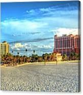 Clearwater Beach Canvas Print