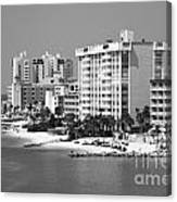 Clearwater Beach Florida Canvas Print