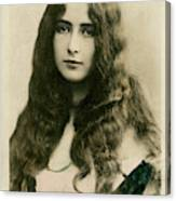 Cleo De Merode (1875 - 1966), French Canvas Print