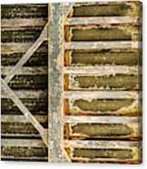 Close-up Of A Weathered Wall, Los Canvas Print