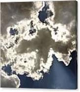 Cloud Photograph  Canvas Print