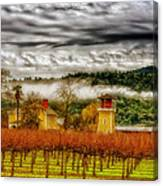 Clouds Over Napa Valley Canvas Print