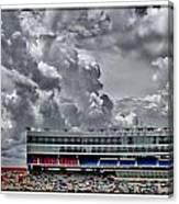 Clouds Over Stadium Canvas Print
