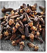 Cloves Canvas Print