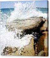 Coastal Collision Canvas Print