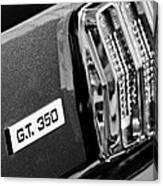 Cobra Gt 350 Taillight Emblem Canvas Print