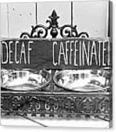 Coffee Bean Holder Canvas Print