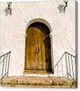 Colonial Door Canvas Print