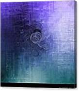 Color Sensation Blue Canvas Print