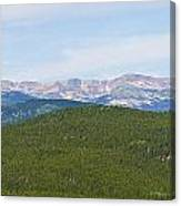 Colorado Continental Divide 5 Part Panorama 1  Canvas Print