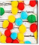 Colorful Bonbons Canvas Print
