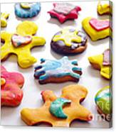 Colorful Cookies Canvas Print