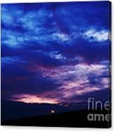 Colorful December Sunrise Canvas Print