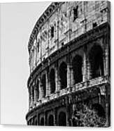 Colosseum - Rome Italy Canvas Print