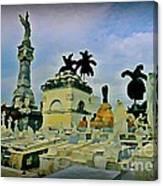 Columbus Cemetary Havana Canvas Print
