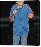 Comedian George Carlin Canvas Print