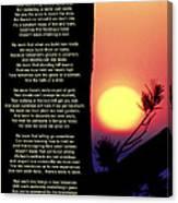 Comes The Dawn Canvas Print