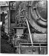 Comox Logging Engine No.11 Canvas Print