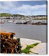 Conway Harbour Canvas Print