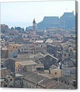 Corfu City 2 Canvas Print