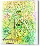 1 Corinthians 1 3 Canvas Print
