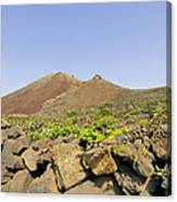 Corona Volcano On Lanzarote Canvas Print