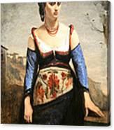 Corot's Agostino Canvas Print