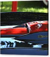 Corvette Torch Canvas Print