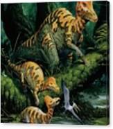 Corythosaurus Canvas Print