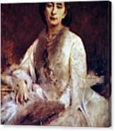 Cosima Wagner (1837-1930) Canvas Print