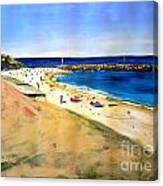 Cottesloe Beach Canvas Print