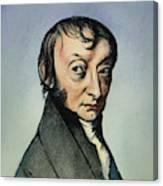 Count Amedeo Avogadro (1776-1856) Canvas Print