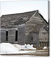 Country School Canvas Print