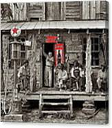 Country Store Coca-cola Signs Dorothea Lange Photo Gordonton North Carolina July 1939-2014 Canvas Print