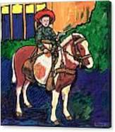 Cowboy Dale Canvas Print