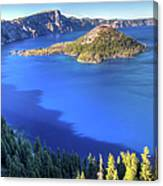 Crater Lake, Oregon Canvas Print