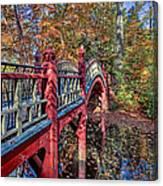 Crim Dell Bridge Canvas Print