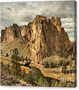 Crooked River Bend Canvas Print
