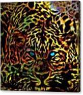 Crouching Cheetah Canvas Print