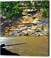 Cumberland Falls Rainbow Canvas Print