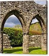 Cymer Abbey Snowdonia Canvas Print