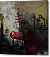 Dallas Skyline 003 Canvas Print