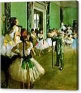 Dance Class  Canvas Print