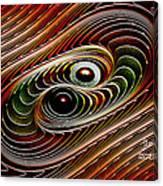 Dance Galactica Canvas Print