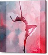 Dancing In The Clouds Canvas Print