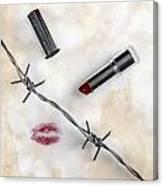 Dangerous Kisses Canvas Print