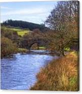 Dartmoor - Two Bridges Canvas Print